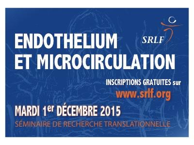 20151201-EndotheliumEtMicrocirculation