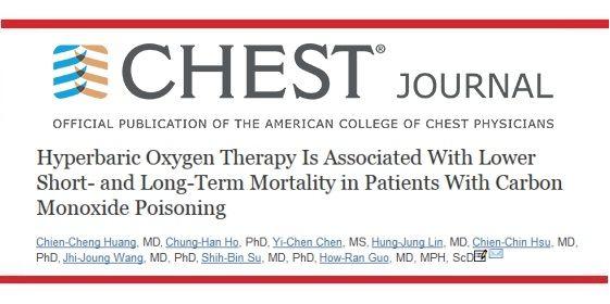 Oxygénothérapie hyperbare et intoxications au monoxyde de ...