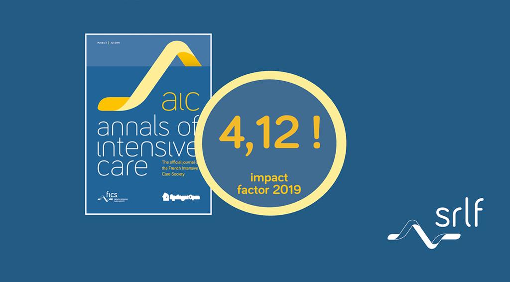 Impact Factor : la revue Annals of Intensive Care continue de progresser !